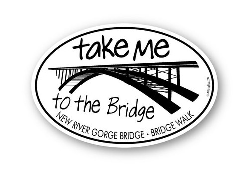 Wholesale Take Me to the Bridge Sticker