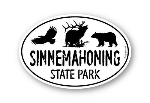 Wholesale Eagle Elk Bear Sticker