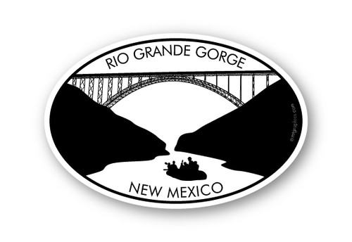 Wholesale Raft Bridge Sticker