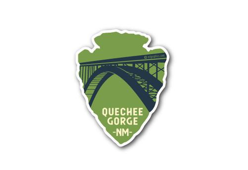 Arrowhead Bridge Die Cut Sticker