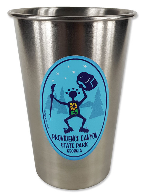 16oz Stainless Steel Pint Glass