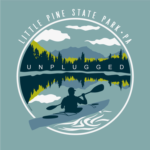 Wholesale Unplugged Kayak Tee