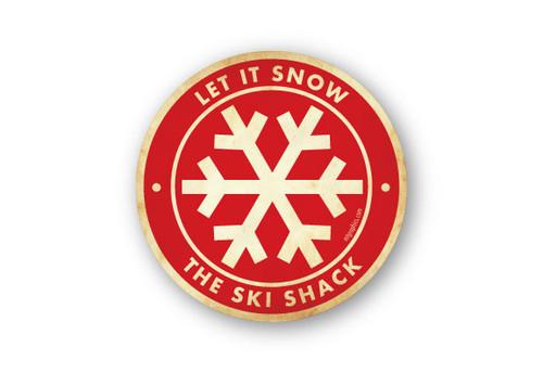 Wholesale Vintage Snowflake Sticker