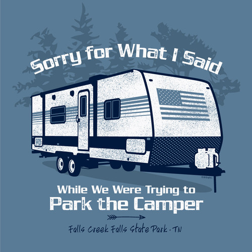 Wholesale Sorry For What I Said Camper Tee