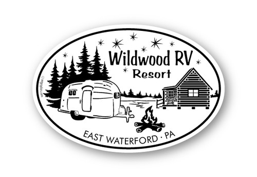 Wholesale Camper & Cabin Sticker