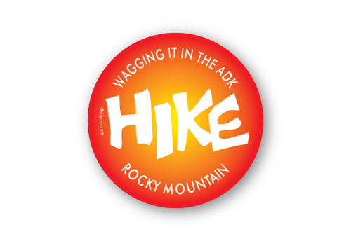 Wholesale Hike Sun Sticker