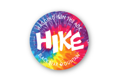 Wholesale Hike Tie Dye Sticker