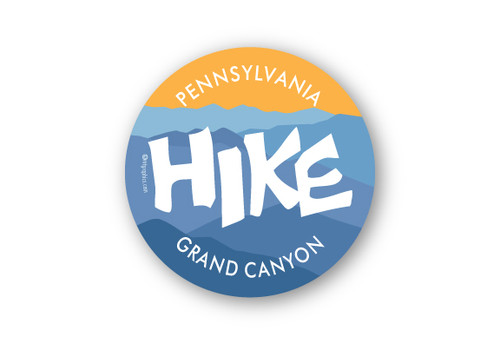 Wholesale Hike Mountain View Sticker