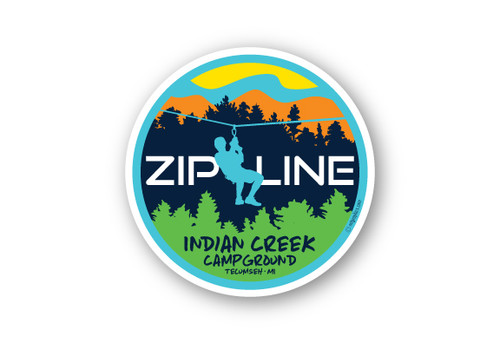 Wholesale Zipline Sticker