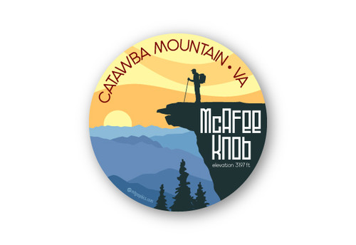 Wholesale McAfee Knob Sticker
