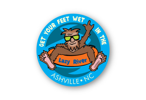 Wholesale Bigfoot River Tube Sticker