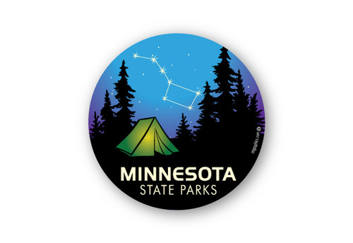 Wholesale Big Dipper Tent Sticker