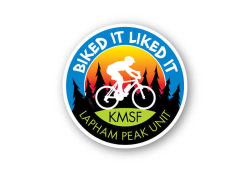Wholesale Biked It Liked It Round Sticker