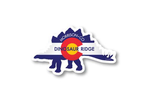 Wholesale Stegosauras Die Cut Sticker