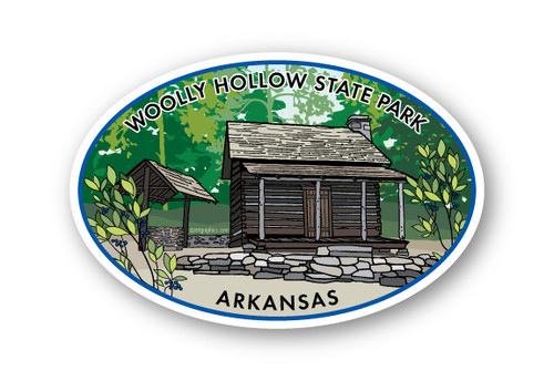Wholesale Cabin in the Woods Sticker