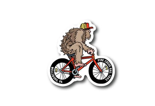 Wholesale Bigfoot Bicycle Sticker
