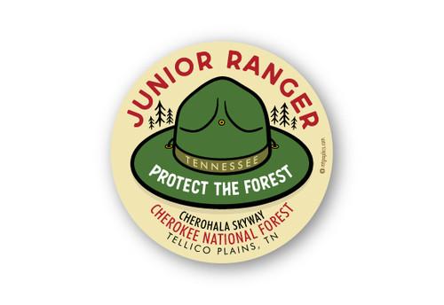 """Wholesale Junior Ranger 4"""" Sticker"""