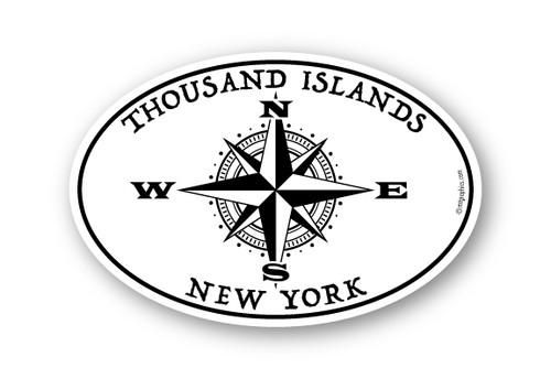 Wholesale Compass Rose Sticker