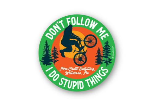 "Wholesale Stupid Things 4"" Sticker"