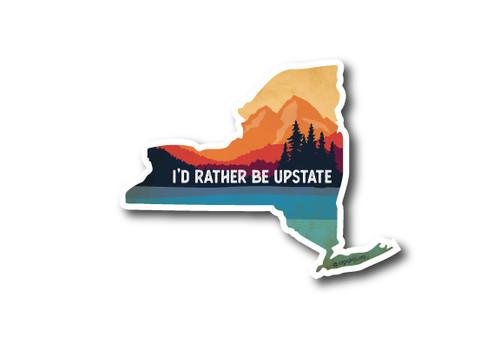 Wholesale New York State Diecut Sticker