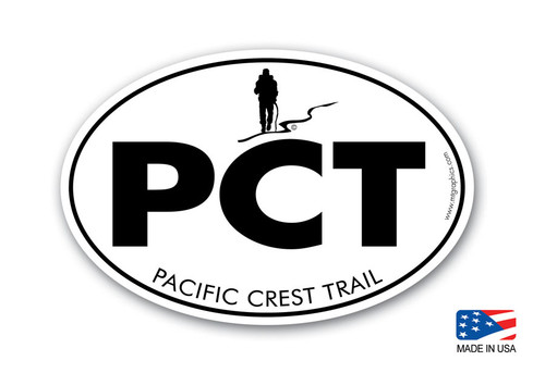 Pacific Crest Trail Classic Hiking Sticker