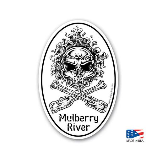Mulberry River Sticker