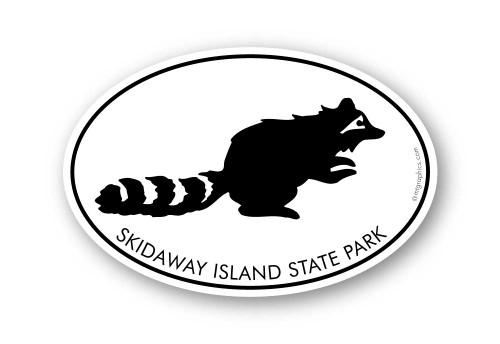 Wholesale Raccoon Sticker