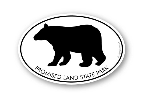 Wholesale Black Bear Sticker