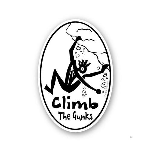 Wholesale Crazy Climber Vertical Sticker