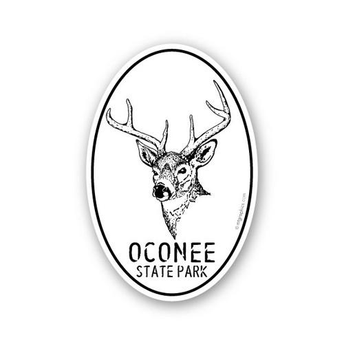 Wholesale White Tail Deer Sticker