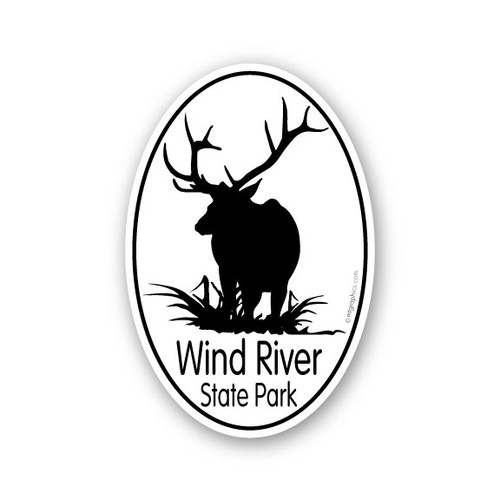 Wholesale Elk Sticker