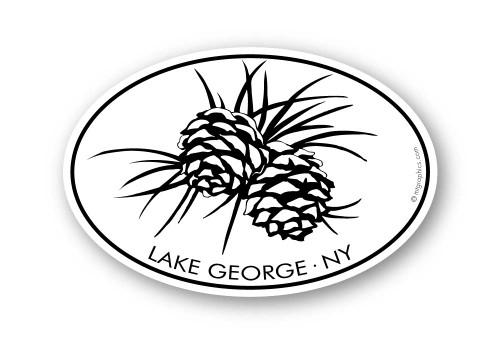 Wholesale Pine Cones Sticker