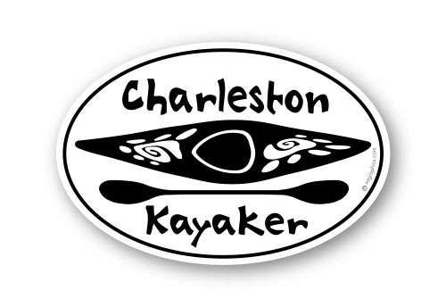 Wholesale Kayak & Paddle Sticker