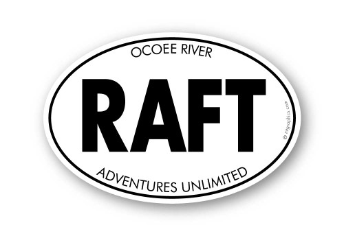 Wholesale Raft Sticker