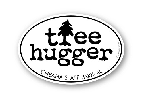 Wholesale  Tree Hugger Sticker