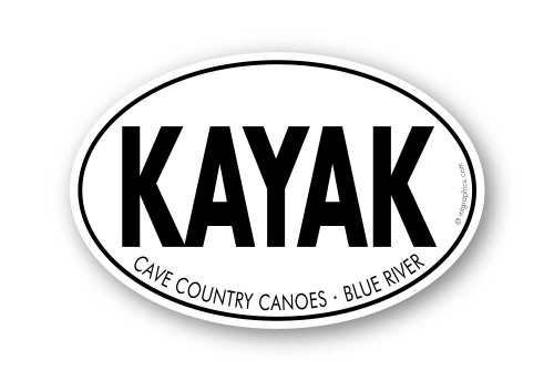Wholesale Kayak Sticker