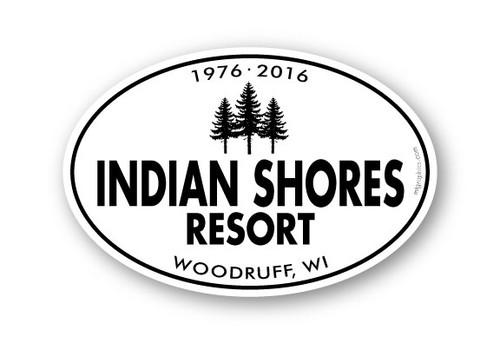 Wholesale Bold Type & Trees Sticker