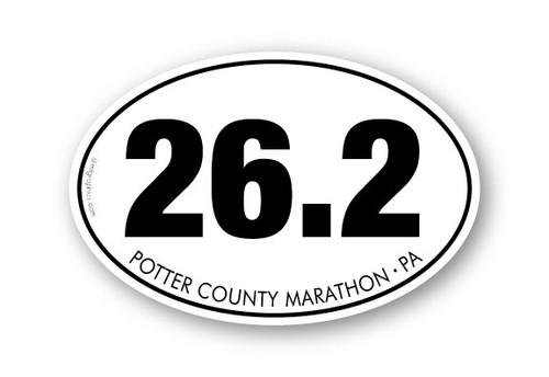 Wholesale 26.2 Marathon Sticker