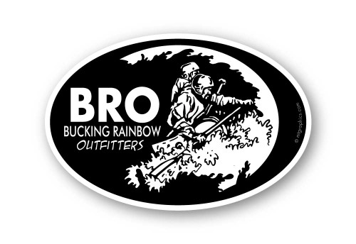 Wholesale Whitewater Rafting Sticker