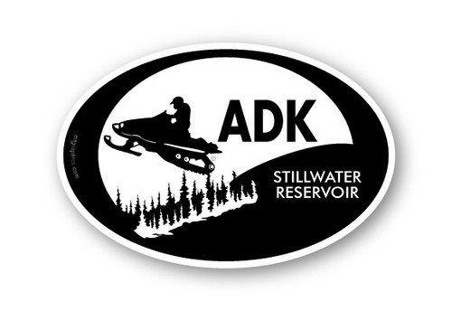 Wholesale Snowmobile Sticker Black