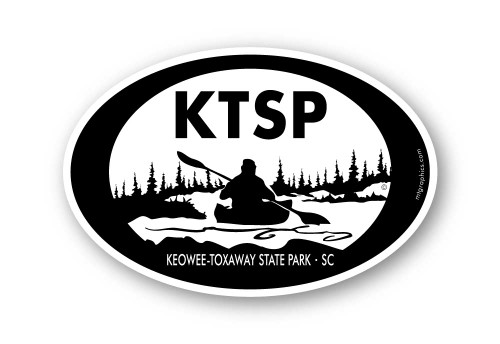 Wholesale Kayaker Sticker