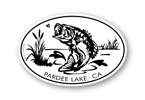 Wholesale Bass Sticker