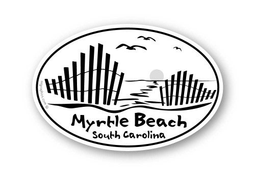 Wholesale Beach Fence Sticker