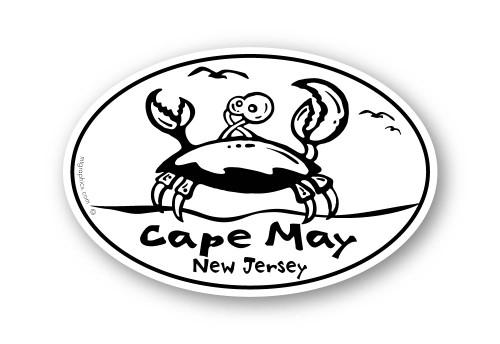 Wholesale Wacky Crab Sticker