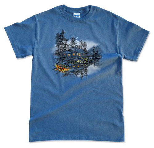 Cabin on the Water T-Shirt