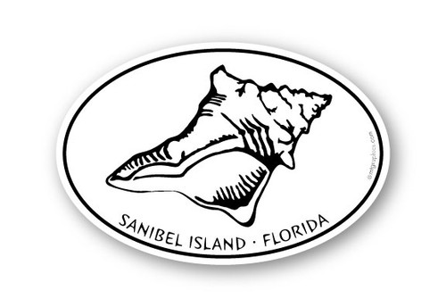 Wholesale Conch Shell Sticker