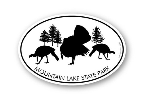 Wholesale Wild Turkeys Sticker
