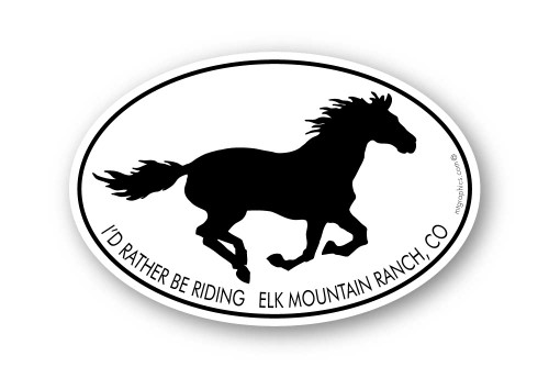 Wholesale Mustang Horse Sticker