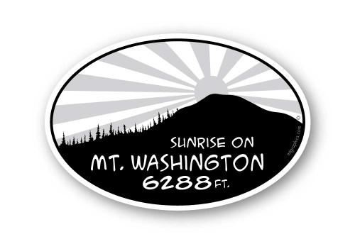 Wholesale Mountain Sunrise Sticker