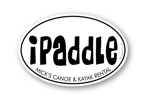 Wholesale iPaddle Sticker